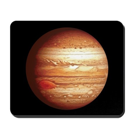 Planet Jupiter Mousepad by oph3lia