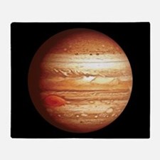 Planet Jupiter Throw Blanket
