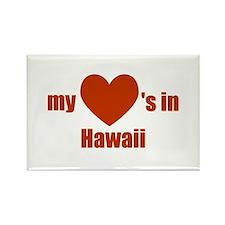 Hawaii Rectangle Magnet