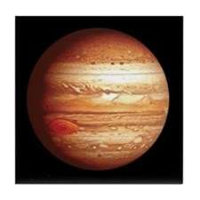 Planet Jupiter Tile Coaster