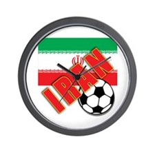 IRAN World Soccer Wall Clock