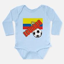 Colombia World Soccer Long Sleeve Infant Bodysuit