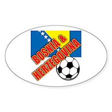 Bosnia and Herzegovina World Soccer Decal
