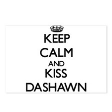 Keep Calm and Kiss Dashawn Postcards (Package of 8