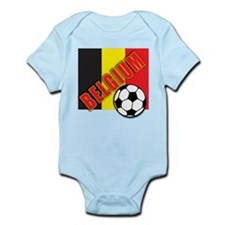 Belgium World Soccer Infant Bodysuit