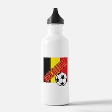 Belgium World Soccer Water Bottle