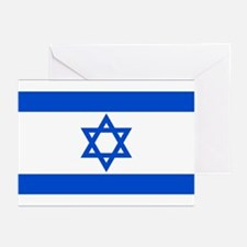 Israel State Flag Greeting Cards (Pk of 10)