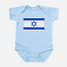 Israel State Flag Infant Bodysuit
