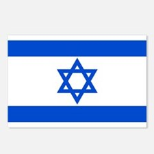 Israel State Flag Postcards (Package of 8)