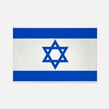 Israel State Flag Rectangle Magnet