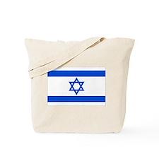 Israel State Flag Tote Bag