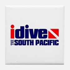 idive (South Pacific) Tile Coaster