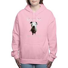 Rescuer Macy (black) Women's Hooded Sweatshirt