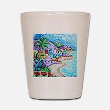 Laguna Beach Feeling By Angela Cruz Shot Glass