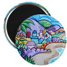Laguna Beach Feeling By Angela Cruz Magnets