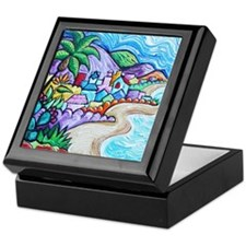 Laguna Beach Feeling By Angela Cruz Keepsake Box