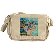 Laguna Beach Feeling By Angela Cruz Messenger Bag