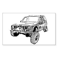 Cherokee Poser (XJ) Stickers