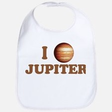 I Love Jupiter Bib