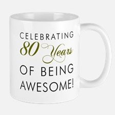 Celebrating 80 Years Drinkware Mugs