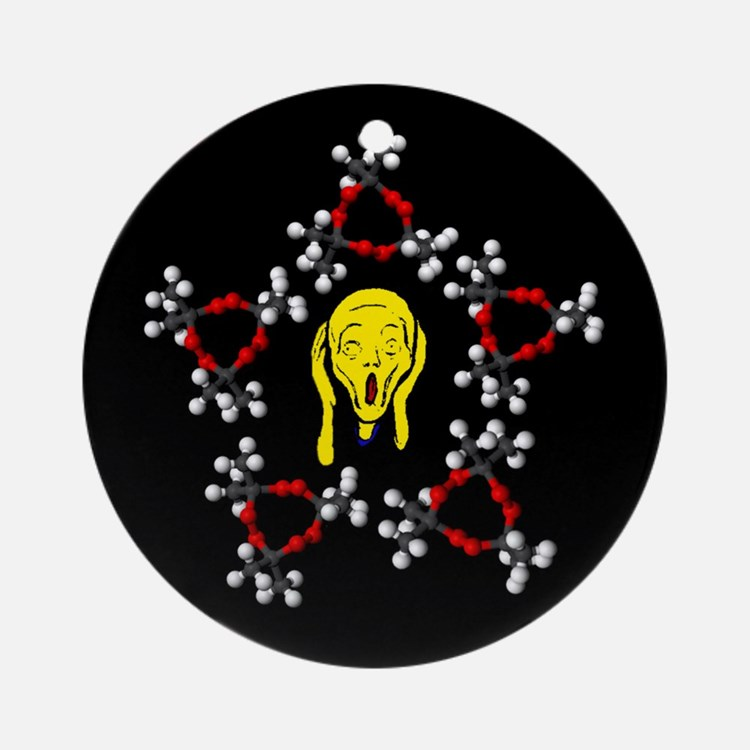 I Survived Organic Chemistry Ornament (Round)