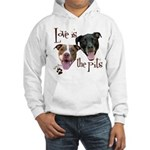 Love is the Pits Hoodie