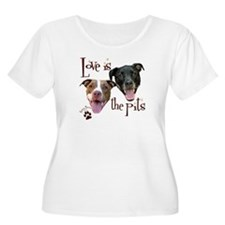 Love is the Pits Plus Size T-Shirt