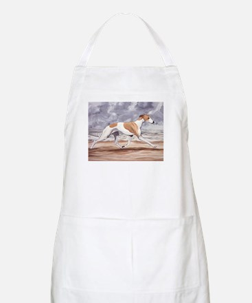 Whippet on the Beach Apron