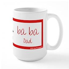 Ba Ba (Dad) Chinese Character Mug Mugs