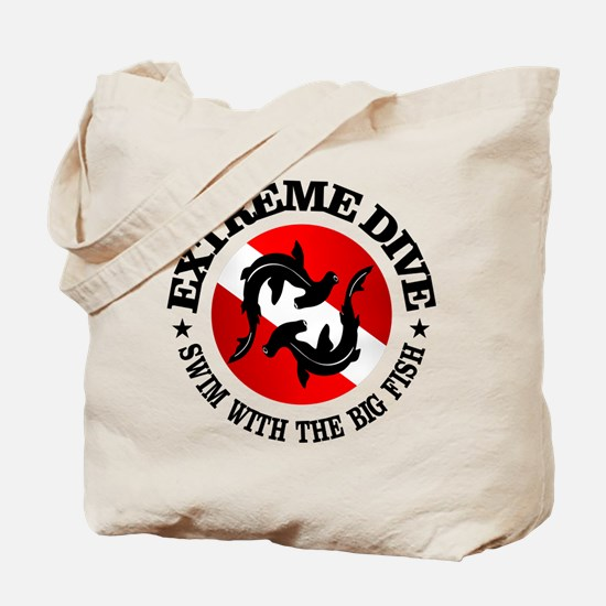 Extreme Dive (Hammerheads) Tote Bag