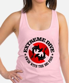 Extreme Dive (Hammerheads) Racerback Tank Top
