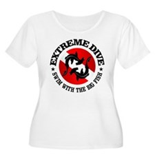 Extreme Dive (Hammerheads) Plus Size T-Shirt