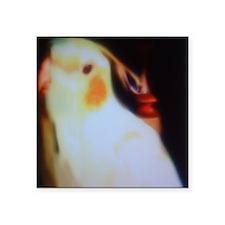 "Amari the Bird Square Sticker 3"" x 3"""