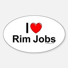 Rim Jobs Decal