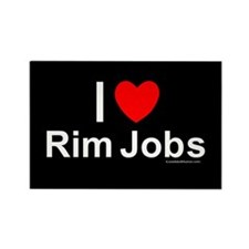 Rim Jobs Rectangle Magnet
