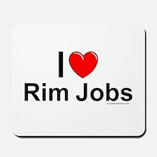 Rim Jobs Mousepad