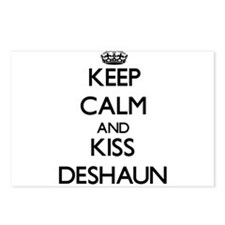 Keep Calm and Kiss Deshaun Postcards (Package of 8
