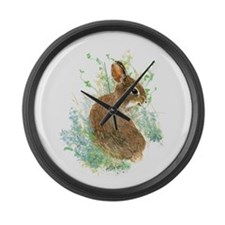 Cute Watercolor Bunny Rabbit Pet Animal Large Wall