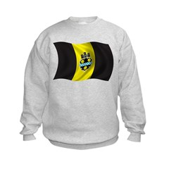 Wavy Pittsburgh Flag Sweatshirt