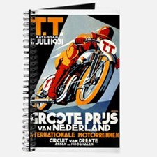 1931 Netherlands Grand Prix Racing Poster Journal