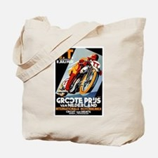 1931 Netherlands Grand Prix Racing Poster Tote Bag