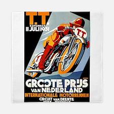 1931 Netherlands Grand Prix Racing Poster Queen Du