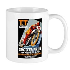 1931 Netherlands Grand Prix Racing Poster Mugs