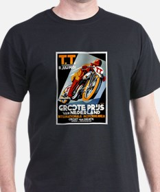 1931 Netherlands Grand Prix Racing Poster T-Shirt