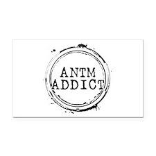 ANTM Addict Rectangle Car Magnet