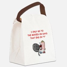 MOVIES2 Canvas Lunch Bag