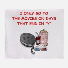 MOVIES2 Throw Blanket