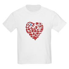 Michigan Heart T-Shirt