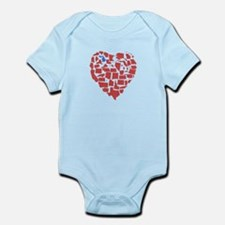 Michigan Heart Infant Bodysuit