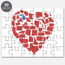 Michigan Heart Puzzle